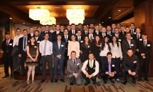 Vulcanus participants at the Tokyo reception