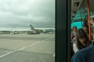 Landing at Narita