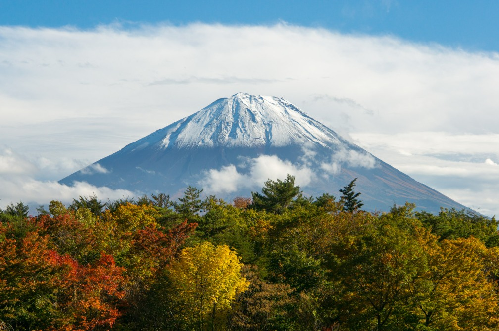 Mt. Fuji on an autumn afternoon (1st)